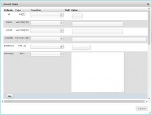 PHPMyAdmin-table-insert