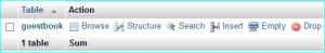 PHPMyAdmin-table-tools